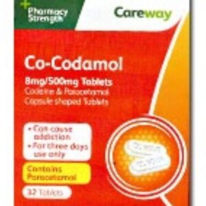 Co-codamol 8/500mg Tablets 32 tablets