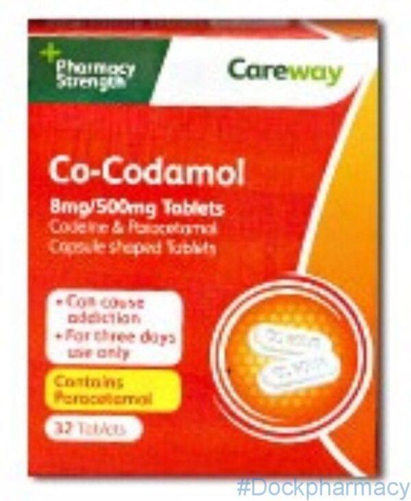 Co-codamol 8/500mg Tablets 32 tablets
