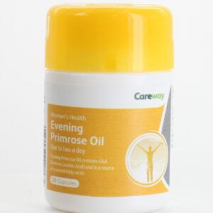Careway Evening Primrose Oil 500mg Capsules