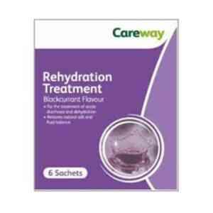 Careway Rehydration Treatment, 6 Sachets