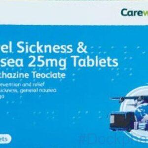 careway travel sickness & nausea tablets