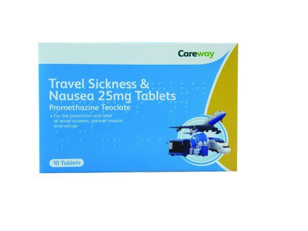 Careway Travel Sickness tabs