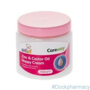 Zinc & Castor Oil Cream, 250ml