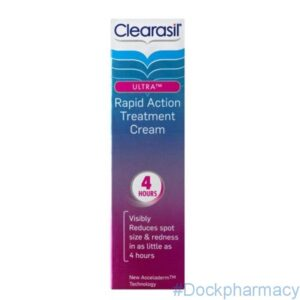 Clearasil Ultra Rapid Action Treatment Cream acne cream