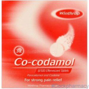 Co-Codamol 8/500 Effervescent Tablets 32s