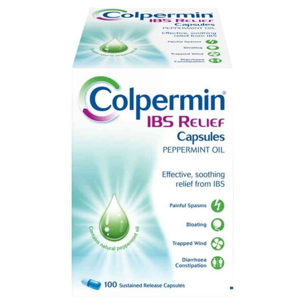Colpermin IBS Relief Capsules, 100 Capsules
