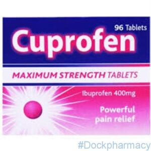 Cuprofen ibuprofen 400mg tablets