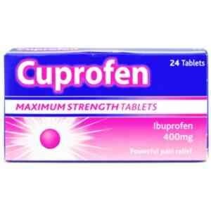 Cuprofen Maximum Strength 400mg Tablets