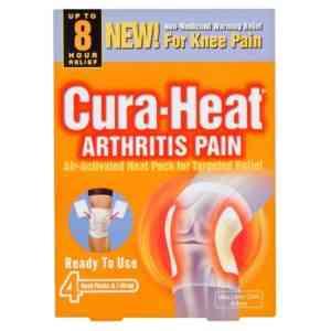 Cura Heat Arthritis Pain For Knee Heat Packs