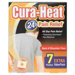 Cura Heat Back And Shoulder Pain Heat Patch