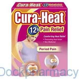 Cura-Heat Period Pain #Dockpharmacy