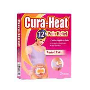 Cura-Heat Period Pain Patch