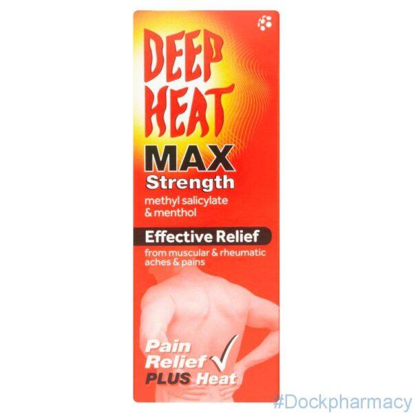 Deep Heat Max Strength Mentholatum