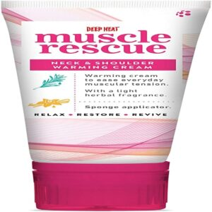 Buy Deep Heat Muscle Rescue Neck And Shoulder Warming Cream, 50ml