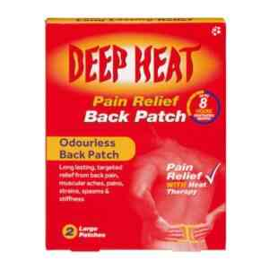 Deep Heat Patch For Back Pain