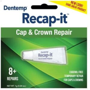 Dentemp Recap-it Cap and Crown Repair