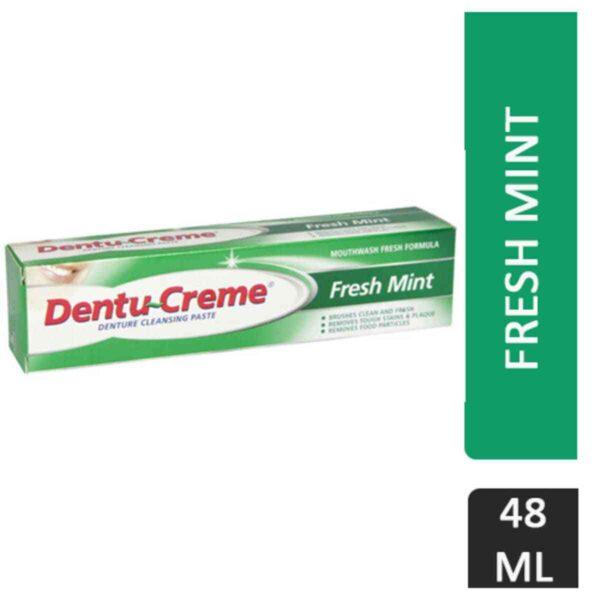 Dentu-Creme Denture Cleaning Toothpaste Freshmint