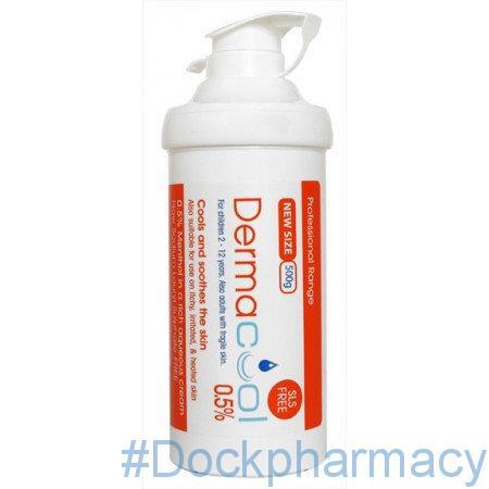 Dermacool 0.5% Menthol In Aqueous Pump