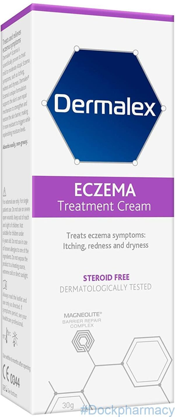Dermalex Eczema Treatment Cream for adults
