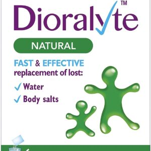 Dioralyte Natural Flavour Replace Lost Water And Body Salts