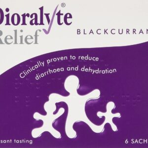 Dioralyte Relief Blackcurrant Sachet Reduce Diarrhoea And Dehydration