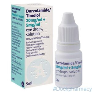 Dorzolamide Timolol eye drops alternative to cosopt