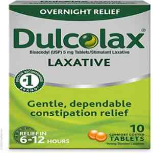 Dulcolax Laxative Tablet, 100 Tablets