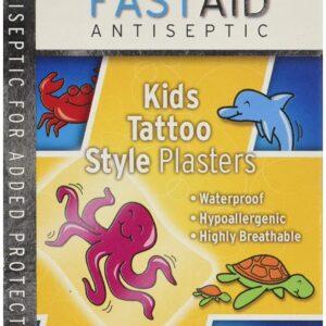 Fast Aid kids tatto style plasters
