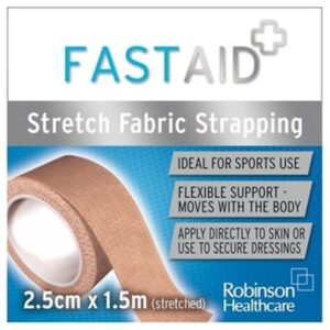Fast Aid Fabric Strapping 2.5cm X 1.5m