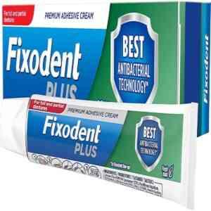 Fixodent Plus Antibacterial