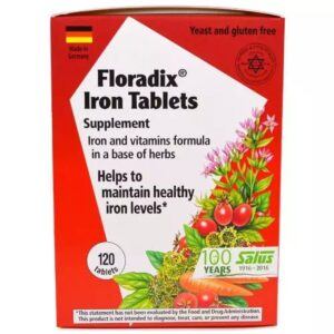 Floradix Iron Supplement Tablets