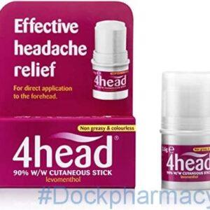 Fourhead Headache Treatment Stick