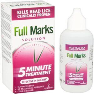 Buy Full Marks Solution Head Lice Treatment, 100ml