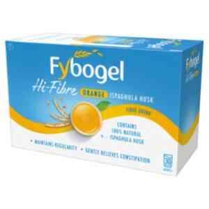 Fybogel Hi-Fibre Orange Sachet Constipation Relief, 30 Sachets