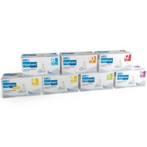 GlucoRx Finepoint insulin pen needles 8mm 31g