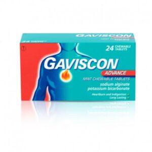 Gaviscon Advance Mint Chewable Tablets