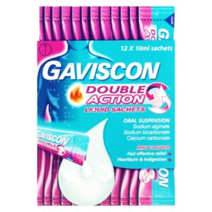 Gaviscon Double Action Liquid Mint Flavour Sachets