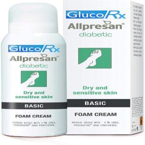GlucoRx Allpresan Diabetic Foot Foam Cream Basic