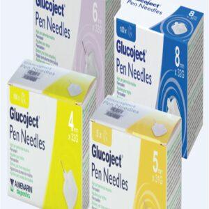 Glucoject Insulin Pen Needles G1 5mm 31G
