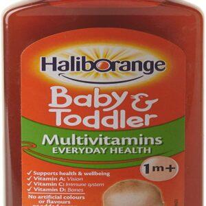 Haliborange Baby And Toddler MultiVitamins Orange Liquid