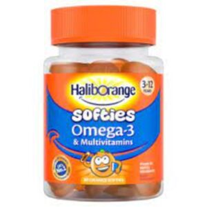 Haliborange Kids Omega 3 & Multivitamin Fruit Softies