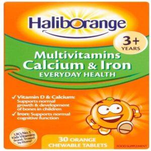 Haliborange Multivitamins Calcium And Iron Tablets