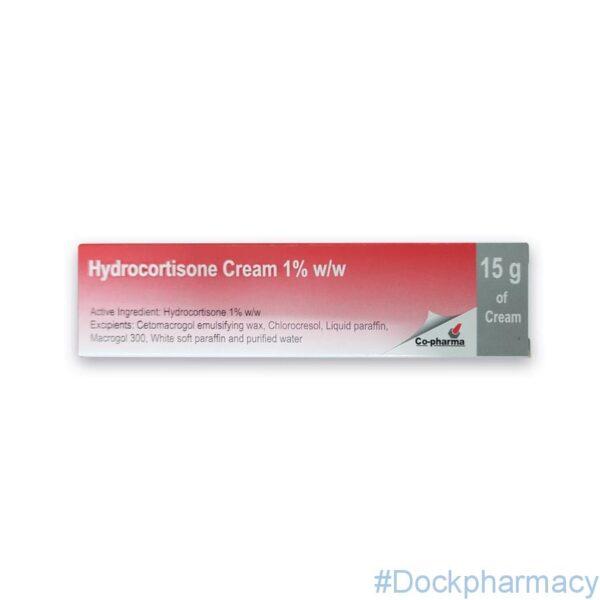 Hydrocortisone Cream 1% 15