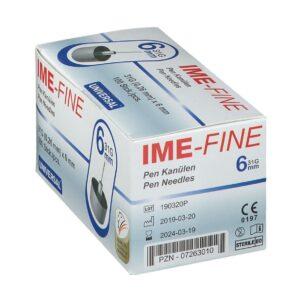 IME-FINE Universal Pen Needles 31GX6MM, 100 Pen Needles