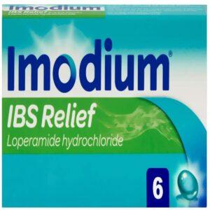 Imodium IBS Relief Treatment And Diarrhoea Capsules