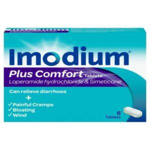 Imodium Plus Comfort 2mg Caplets