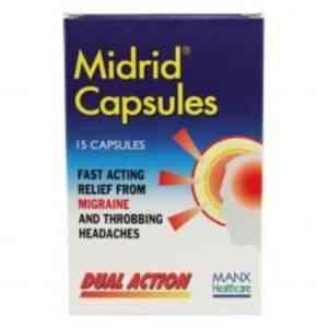Midrid Capsules, 15 Capsules