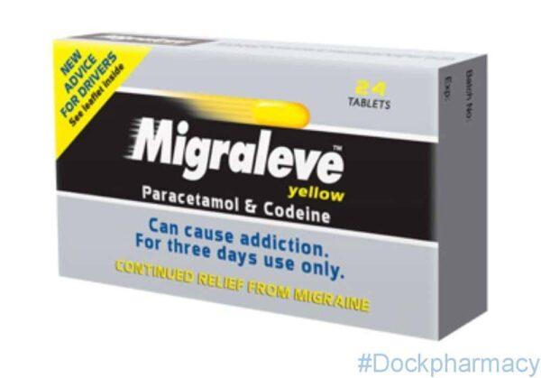 Migraleve Yellow ( Paracetamol and Codeine) Tablets