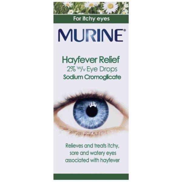Murine Hayfever Relief Eye Drops