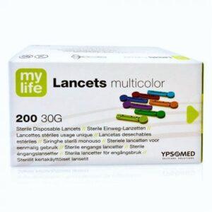 Mylife Lancets Multicolour 30g